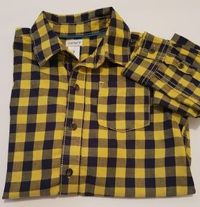 Boys black/yellow shirt